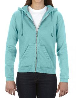 Damen Full Zip Hooded Sweatshirt