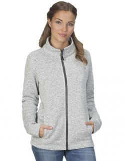 Womens Knit Fleece Jacket C+