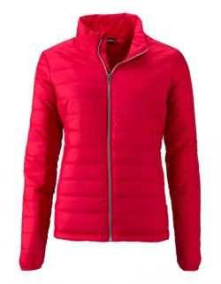 Ladies` Padded Jacket / Taillierter Schnitt