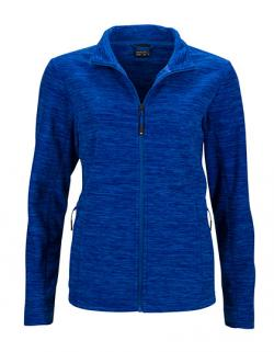 Ladies` Fleece Jacket / Taillierter Schnitt