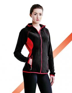 Women`s Seoul Hooded Fleece Jacket