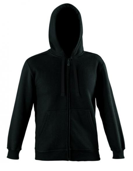Zip Through Hooded Sweat Jacket