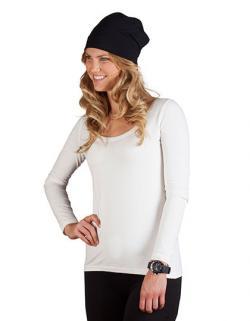 Damen Mütze Beanie / Single-Jersey
