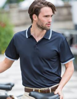 Herren Coolplus® Short Sleeved Tipped Polo Shirt
