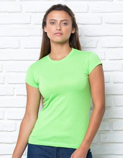 Damen Regular Lady Comfort T-Shirt / Single-Jersey