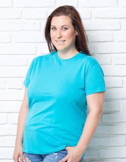 Damen Curves T-Shirt / Single-Jersey