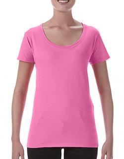 Damen Softstyle® Ladies´ Deep Scoop T-Shirt