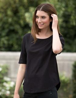 Damen Half Sleeve T-Shirt / 100% Fairtrade Baumwolle