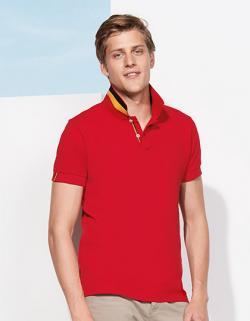 Herren Polo Shirt Patriot / 100% ringgesponnene Baumwolle