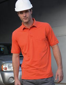 Herren Apex Polo Shirt / Strapazierfähig aus Mischgewebe