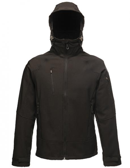 Herren X-Pro Powergrid Hooded Softshell Jacket