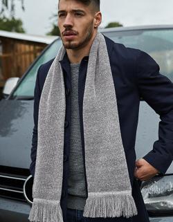 Herren Schal Classic Knitted Scarf
