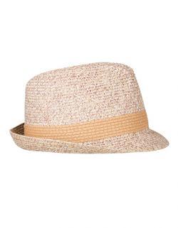 Herren Hut Melange Hat / Hutkrempe 4 cm