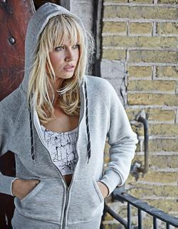 Ladies Hooded Zip-Sweat