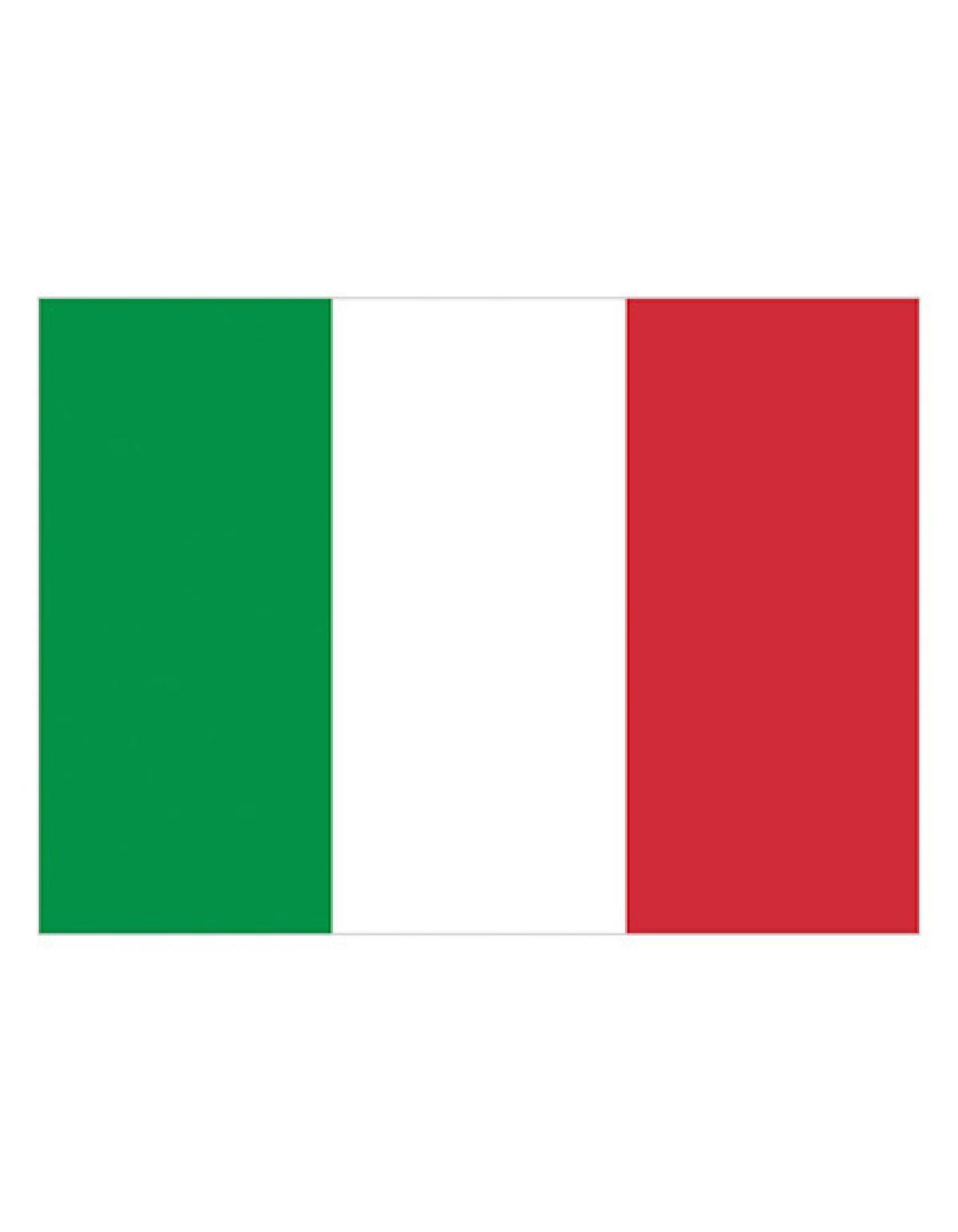 Italien Fahne Bild