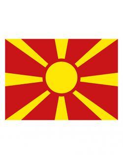 Fahne Mazedonien / 90 x 150 cm