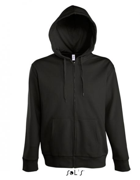 Men Hooded Zipped Jacket Seven