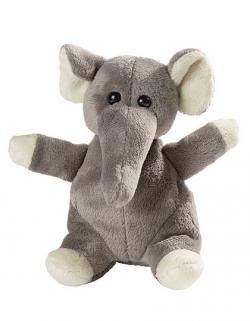 Plüsch Elefant Wolle / 14 cm