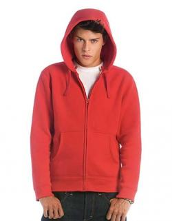 Hooded Full Zip Sweat / Men