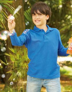 Kinder Polo Long Sleeve 65/35 Polo Kids