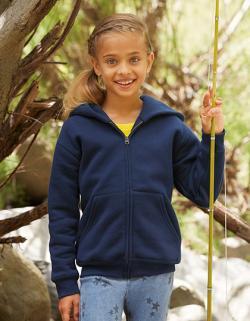 Kinder Jacke Premium Hooded Sweat Jacket Kids