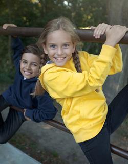 Kinder Sweatshirt Kids Hoodie / 100% Fairtrade-Baumwolle