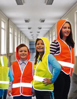 Kinderweste Kid´s Hooded Safety Vest EN 1150