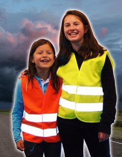 Kinderweste Sicherheitsweste für Kinder EN 1150