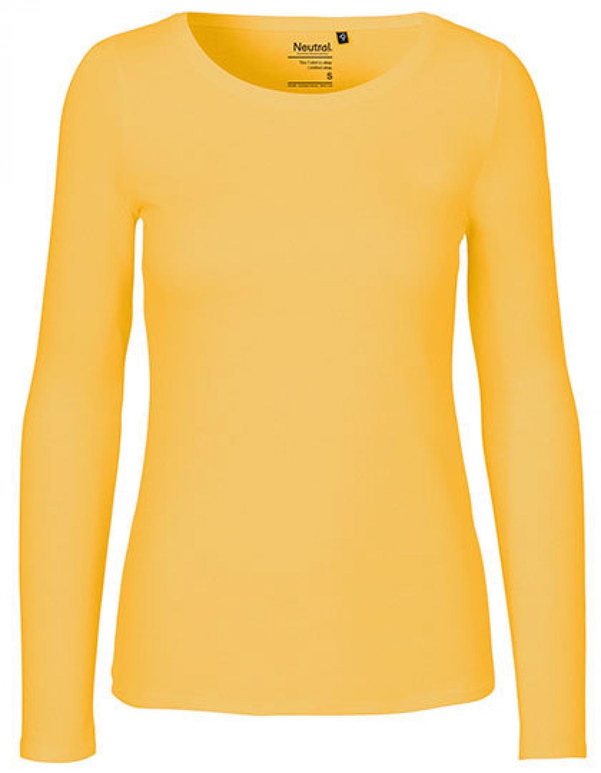 e52d3d05fdba4b Damen Long Sleeve T-Shirt   100% Fairtrade-Baumwolle - Rexlander´s