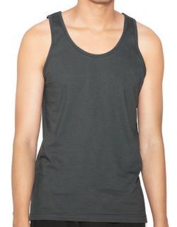Herren Shirt Fine Jersey Tank- 100% Baumwolle bei Farbe Weiß
