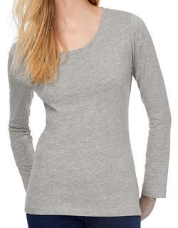 Damen Inspire Long Sleeve T /OCS-100 und Oekotex-100