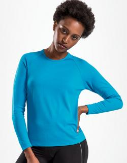 Damen Long-Sleeve Sports T-Shirt Sporty