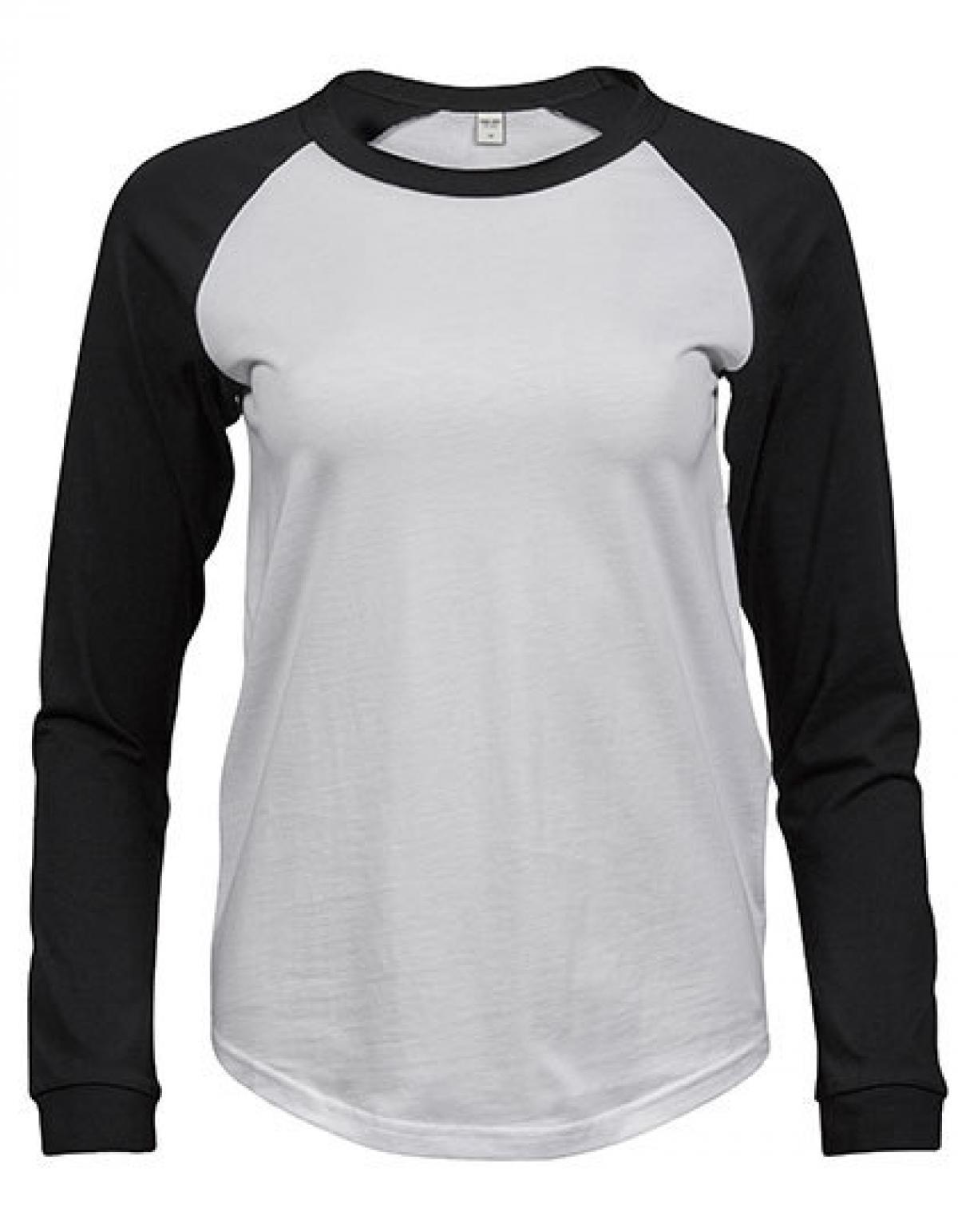 Damen Interlock Langarm T-Shirt von Tee Jays rundhals Longsleeve