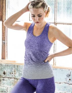 Damen Seamless Fade Out Vest
