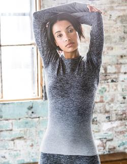 Damen Seamless Fade Out Long Sleeved Top