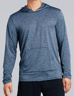 Herren Performance Adult Hooded T-Shirt