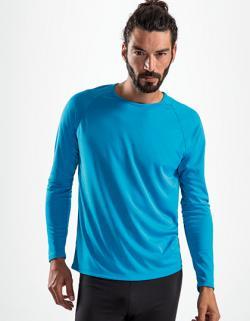 Herren Long-Sleeve Sports T-Shirt Sporty