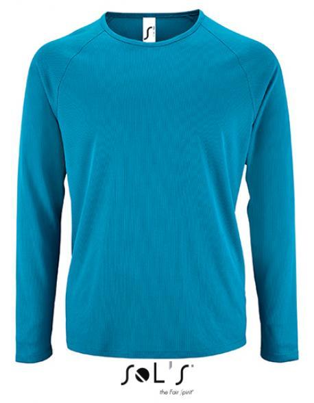 Herren Long Sleeve Sports T Shirt Sporty Rexlander S