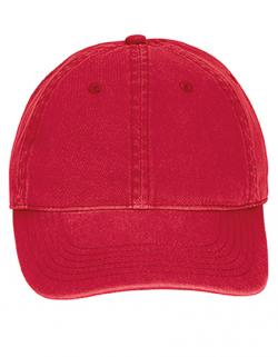 6-Panel-Design Direct Dye Canvas Baseball Cap