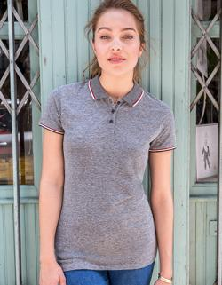 Damen Heather Polo Shirt Paname