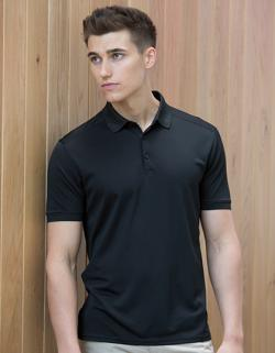 Herren Stretch Polo Shirt + Wick Finish