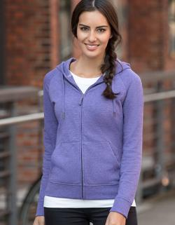Damen HD Zipped Hood Sweat