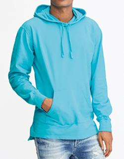 Herren Adult French Terry Scuba Hood