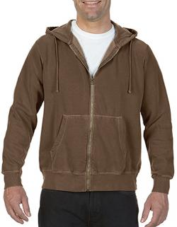 Herren Adult Full Zip Hooded Sweatshirt