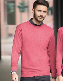 Herren Crew Neck Knitted Pullover