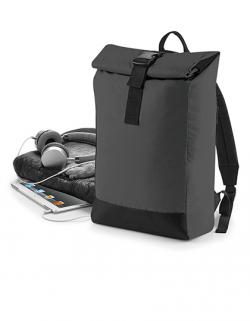 Reflective Roll-Top Backpack 26 x 43 x 13 cm