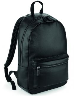 Faux Leather Fashion Backpack 31 x 47 x 16 cm