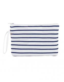Striped Jersey Case Aurora / 23 x 15,5 cm