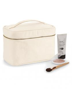 Canvas Vanity Case / 23 x 16 x 14 cm