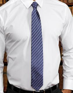 "Double Stripe Tie / Breite 3"" / 7,5 cm / Länge 57"" / 144 cm"